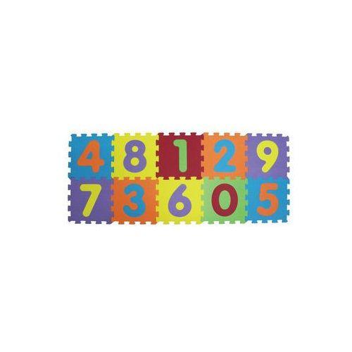 puzzle piankowe 140x56 cm , cyfry marki Ludi