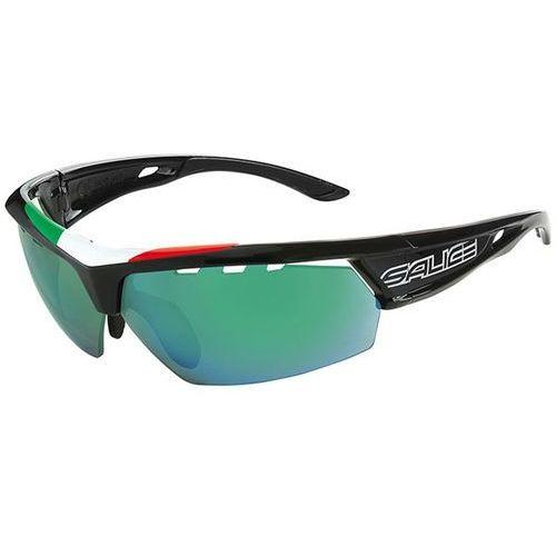 Okulary słoneczne 005 ita polarized bkit/rwpgn marki Salice