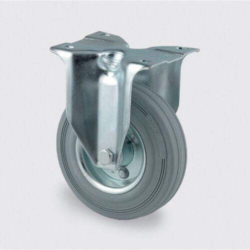 Koła przemysłowe z maksymalnym obciążeniem 70-205 kg, szara guma (4031582306286)