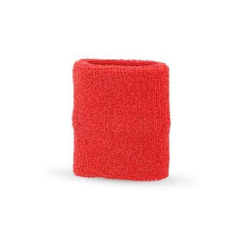Opaska frotka na nadgarstek czerwona