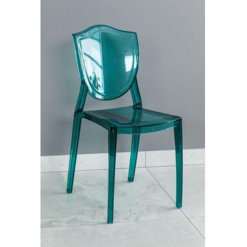 Krzesło z tworzywa Weria zielone, PP-0017