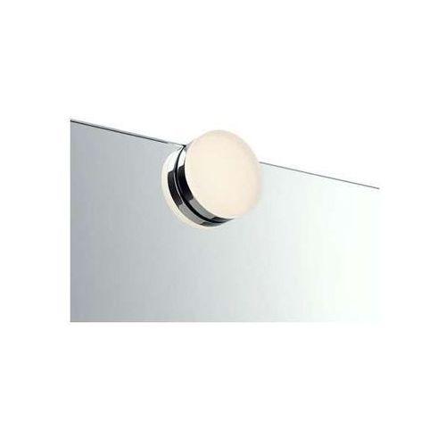Minimalistyczna LAMPA nad lustro AJACCIO 106580 Markslojd okrągła OPRAWA łazienkowa LED 4W IP44 chrom, 106580