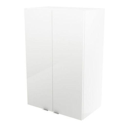 Goodhome Szafka wisząca imandra 60 x 90 x 36 cm biała