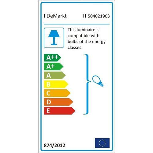 Minimalistyczna lampa sufitowa na 3 żarówki (504021903) marki Demarkt