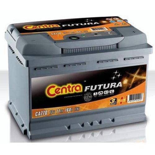 Akumulator Centra Futura 12V 77Ah 760A P+ (wymiary: 278 x 175 x 190) (CA770)