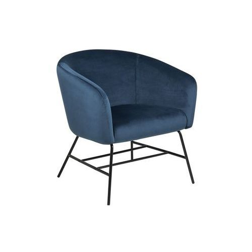 Fotel Ramsey VIC navy blue - D2 Design - Zapytaj o rabat!, kolor czerwony