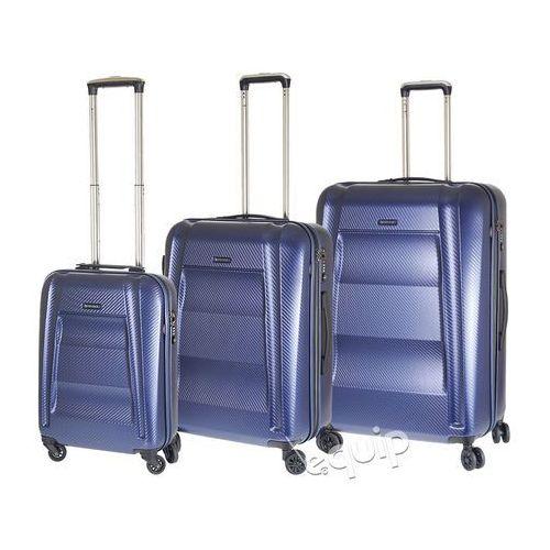 Zestaw walizek Puccini New York PC017 - niebieski