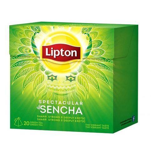 Lipton Herbata indones sencha piramidki (20 saszetek)