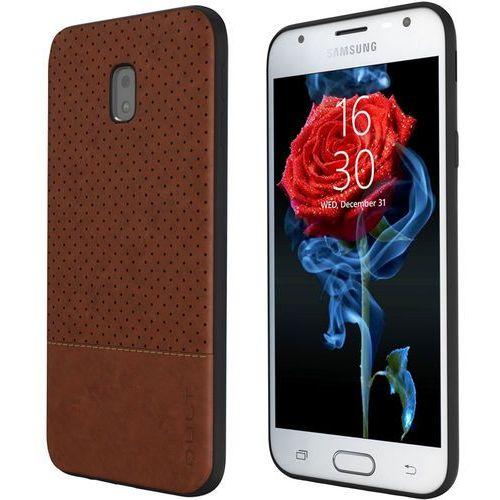 Etui QULT Back Case Drop do Samsung Galaxy J3 2017 Brązowy + Zamów z DOSTAWĄ JUTRO!