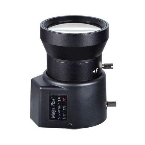 Bcs -05502mir megapixelowy obiektyw 5-50 mm z przysłoną automatyczną do 2 mpx