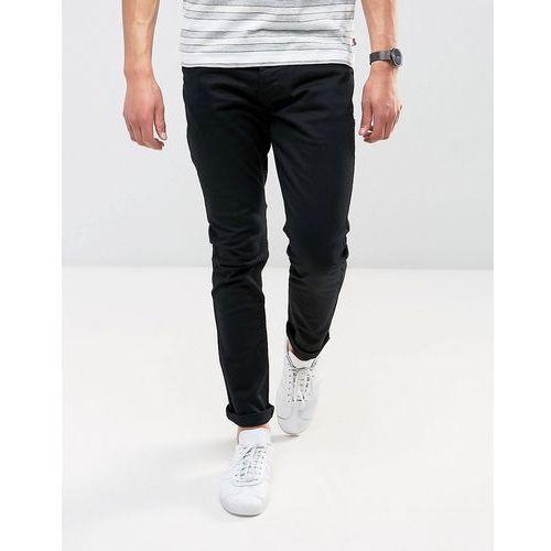 Brave soul skinny black jeans - black