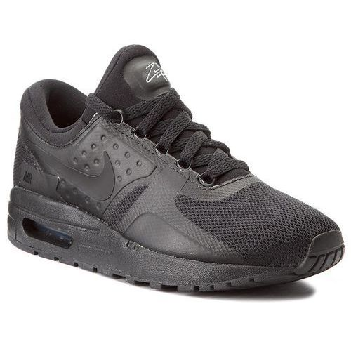 Buty - air max zero essential (gs) 881224 006 black/black/black marki Nike