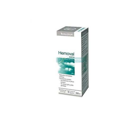HEMOVAL EXTRA krople 50 ml - krople na hemoroidy