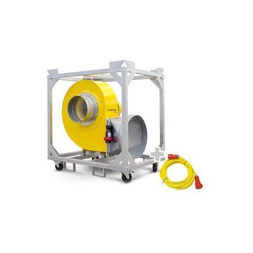 Wentylator promieniowy TFV 300 + Przedłużacz Profi 20 m / 400 V / 2,5 mm²
