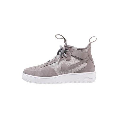 Nike Sportswear AIR FORCE 1 ULTRAFORCE MID PRM Tenisówki i Trampki wysokie cool grey/white, 921126