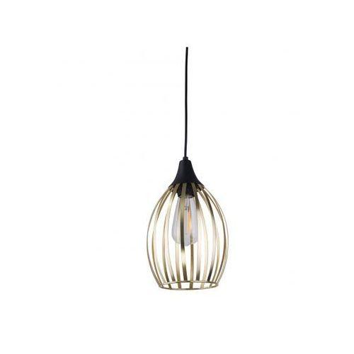 TK Lighting Liza Gold 2816 Lampa wisząca zwis 1x60W E27 złoty/czarny (5901780528164)