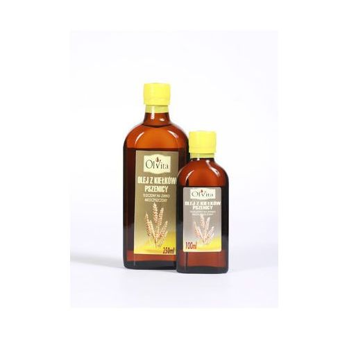 Olej z kiełków pszenicy tłoczony na zimno, nieoczyszczony 100ml - Olvita