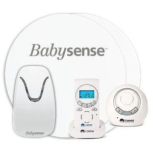Babysense Monitor oddechu 5 z nianią elektroniczną 2w1
