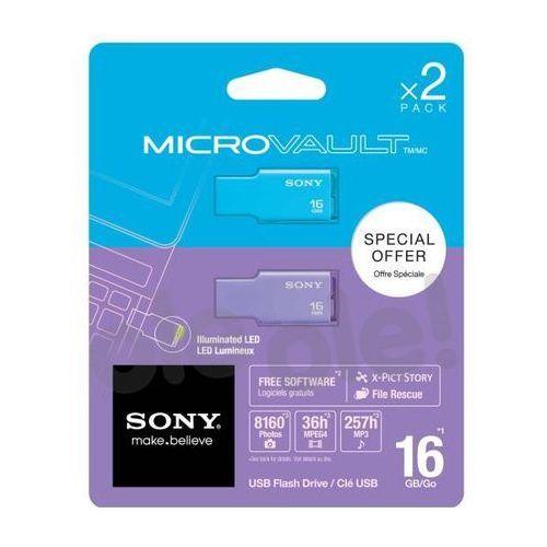 Sony  microvault style 2 x 16 gb