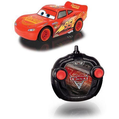 Dickie toys Dickie cars auta 3 zdalnie sterowany zygzak mcqueen 17 cm turbo racer rc