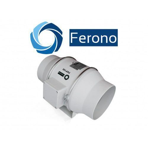 Wentylator kanałowy, osiowy, plastikowy 150mm, 530 m3/h (FKP150). Najniższe ceny, najlepsze promocje w sklepach, opinie.
