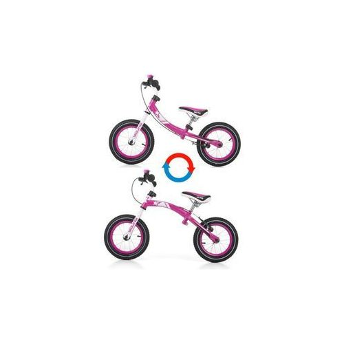 Rowerek biegowy young pink marki Milly mally