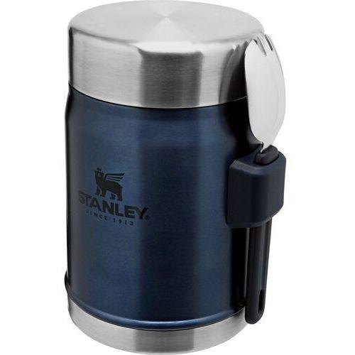 Termos obiadowy 0,4 litra z łyżką stanley legendary classic granatowy (10-09382-006) (6939236373227)