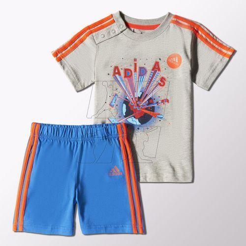 Komplet adidas Fun Summer Set Kids S21465 - produkt z kategorii- Komplety odzieży dla dzieci
