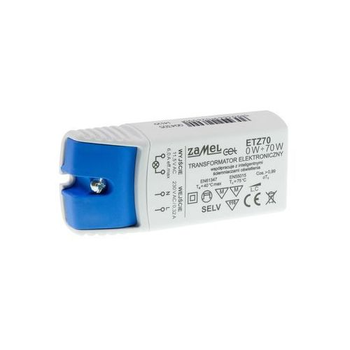 Zamel Transformator elektroniczny etz 0-70 w (5903669026990)