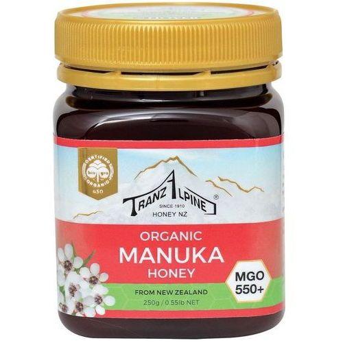 Miód manuka mgo 550+ bio 250 g - tranzalpine marki Tranzalpine dystrybutor: bio planet s.a., wilkowa wieś 7, 05-084 leszn