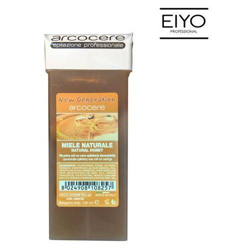 Wosk naturalny do depilacji w rolce o miodowym zapachu ARCOCERE – 100 ml