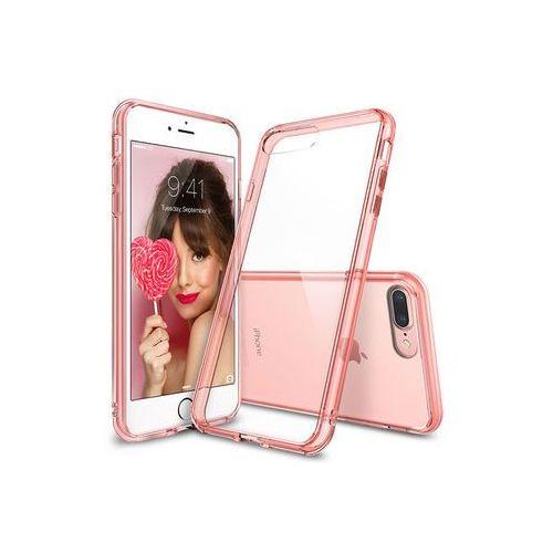 Ringke Apple iphone 8 plus - etui na telefon fusion - różowy