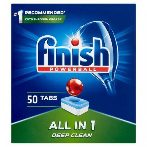 Tabletki do zmywarki FINISH All-in-1 50 regularne, 15900627090106
