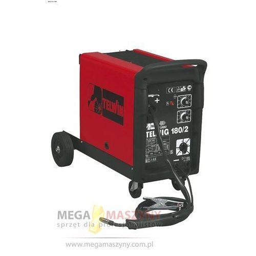 TELWIN Półautomat mig/mag jednofazowy Telmig 180/2 + akcesoria