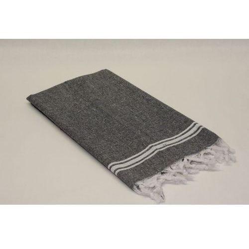 Sauna łażnia - hammam ręcznik 100% bawełna bah3 czerń marki Import