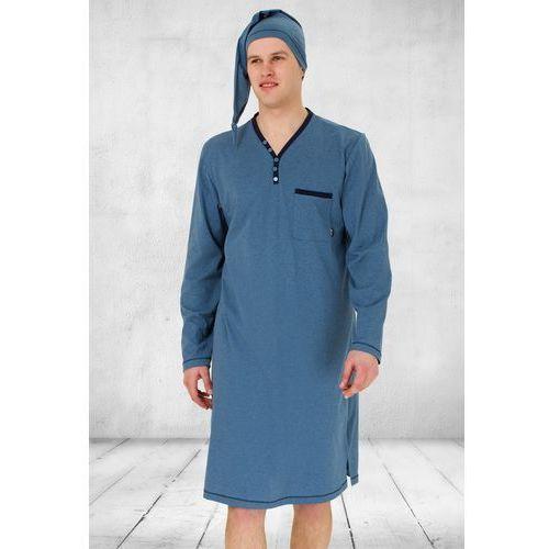 Koszula Nocna Męska Bonifacy 358 jeans