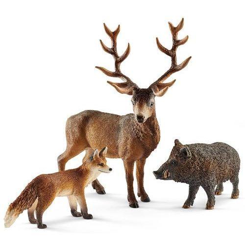 Schleich Zestaw leśne zwierzątka 41458 (4055744012792)