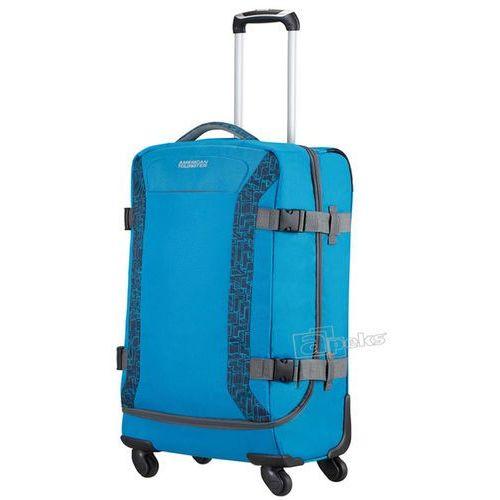 American Tourister Road Quest średnia walizka / torba podróżna 67 cm / niebieska - Bluestar Print