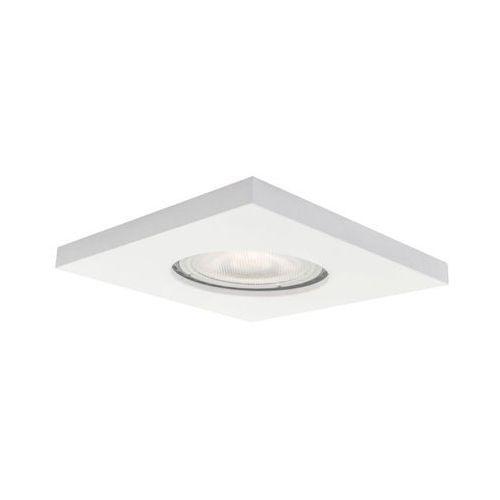 Oprawa stropowa oczko lagos ip65 białe kwadrat gu10 marki Light prestige