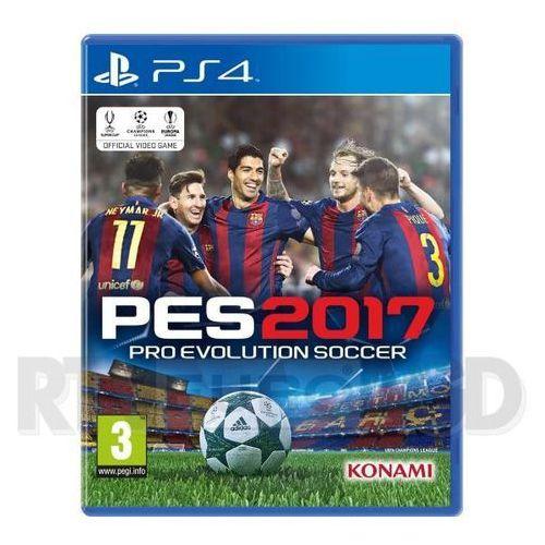 OKAZJA - Pro Evolution Soccer 2017 - produkt w magazynie - szybka wysyłka! (4012927102435)