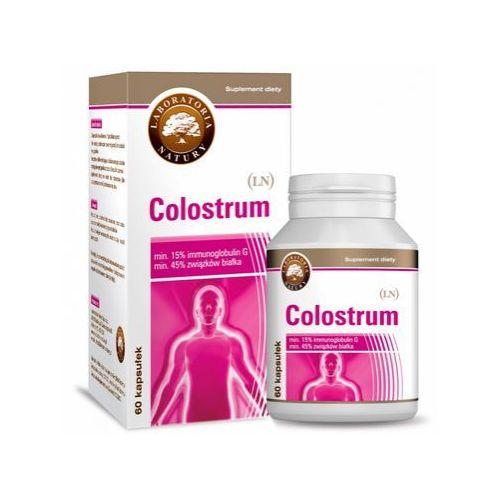 Colostrum (Siara) standaryzowane 210mg 60 kaps. z kategorii Pozostałe zdrowie