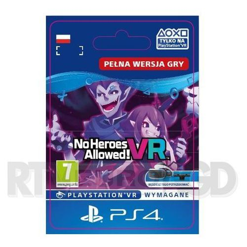 No Heroes Allowed! VR (PS4)