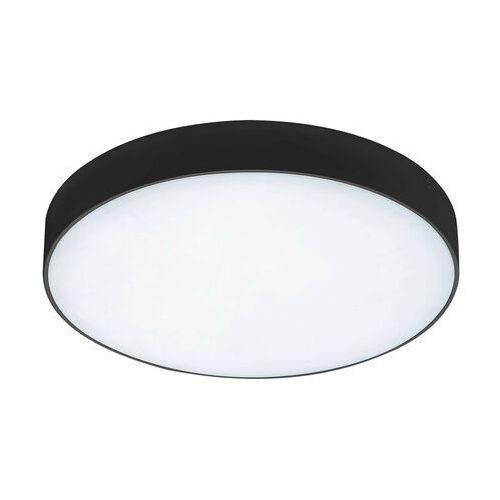 Sufitowa LAMPA plafon TARTU 7898 Rabalux okrągła OPRAWA metalowa LED 24W 2800K - 6000K do łazienki IP44 czarna, kolor biały;czarny