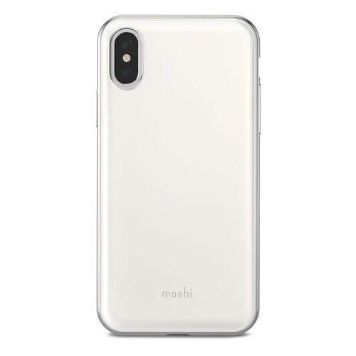 Moshi iglaze - etui iphone x (pearl white)