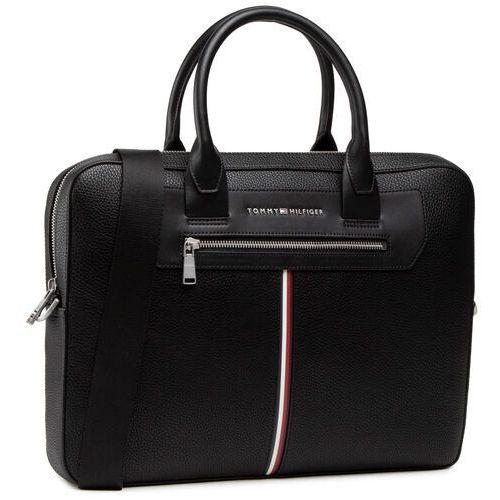 Torba na laptopa TOMMY HILFIGER - Th Downtown Super Slim Comp Bag AM0AM07216 BDS