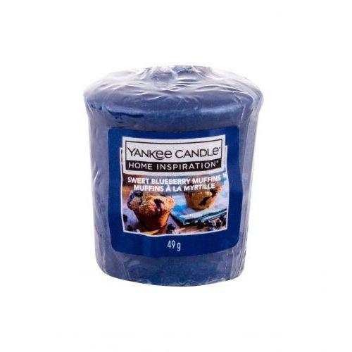 Yankee Candle Sweet Blueberry Muffins świeczka zapachowa 49 g unisex (5038581032108)