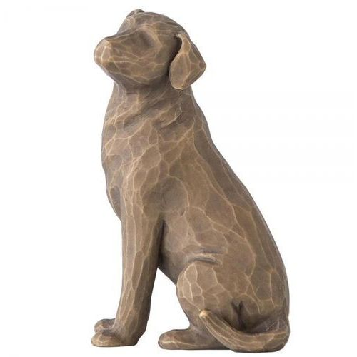 Willow tree Mój ukochany pies love my dog (dark) 27683 susan lordi