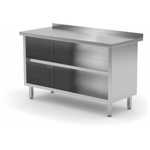 Polgast Stół przyścienny szafka otwarta | szer: 500-1800mm|gł.600mm