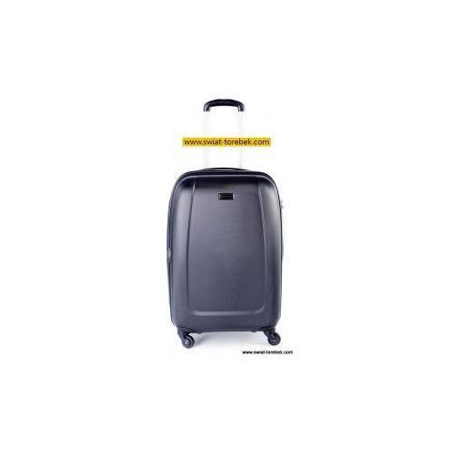 walizka duża z kolekcji abs01 twarda 4 koła materiał abs zamek szyfrowy z systemem tsa marki Puccini