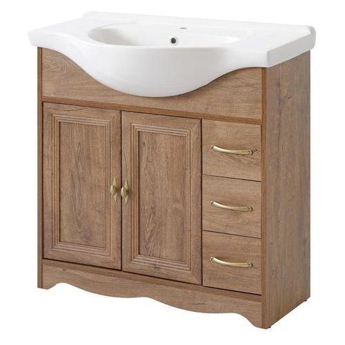 Comad Szafka łazienkowa stojąca 85 cm pod umywalkę, deco